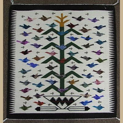 Tree Of Life Navajo Rug Native