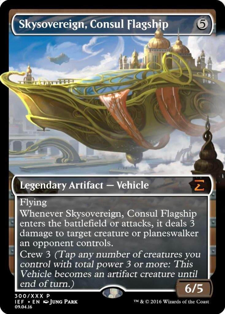 Losse kaarten Verzamelingen Consul Flagship Skysovereign