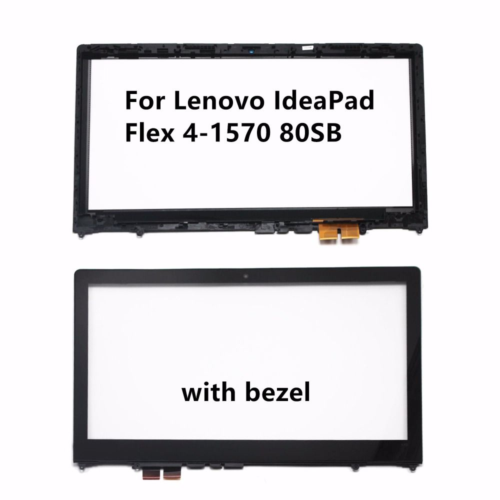 15 6inch For Lenovo Ideapad Flex 4 15 Flex 4 1570 80sb Laptop Touch Screen Panel Digitizer Sensor Glass Repair R Lenovo Ideapad Glass Repair Laptop Accessories