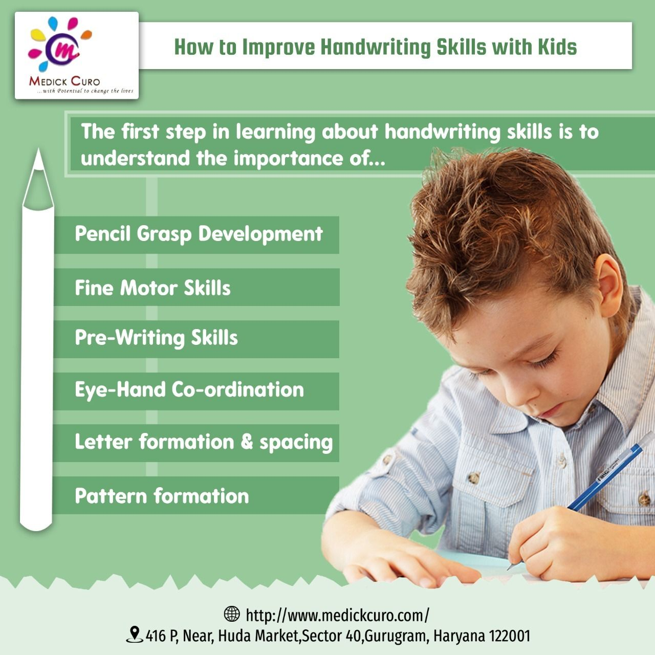 How to Improve handwriting skills with Kids ? in 2020