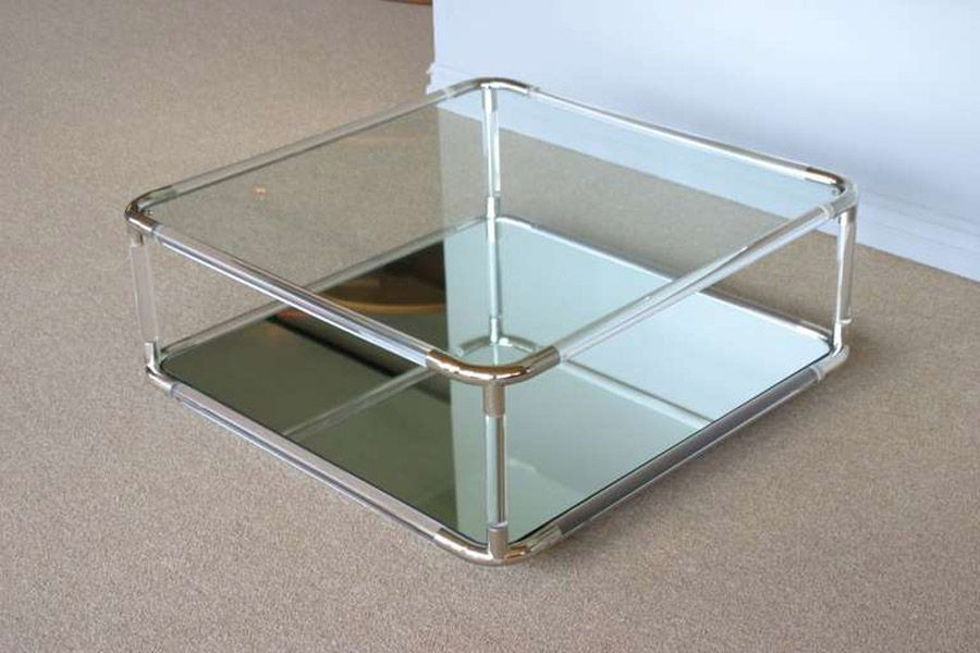 Acrylic Coffee Table Square Acrylic Coffee Table