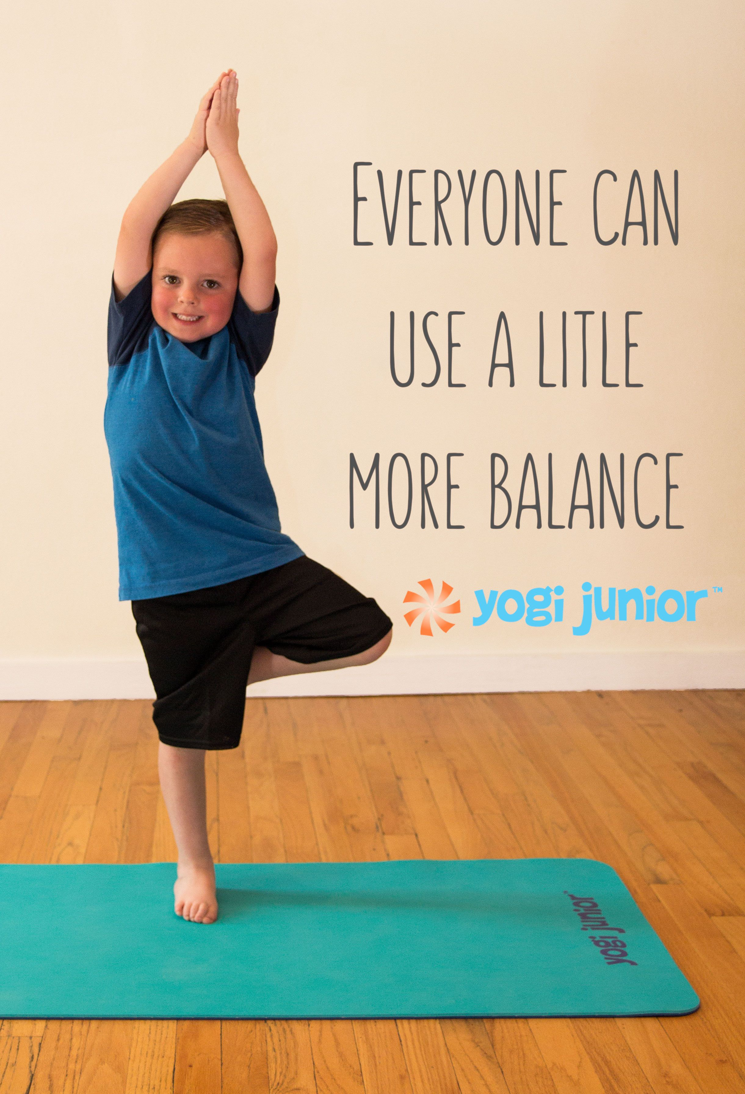 Now Kids Can Have Their Own High Quality Yoga Mat Inspire Your Child S Practice Today With A Double Layered Extra Thic Yoga For Kids Toddler Yoga Kids Safe