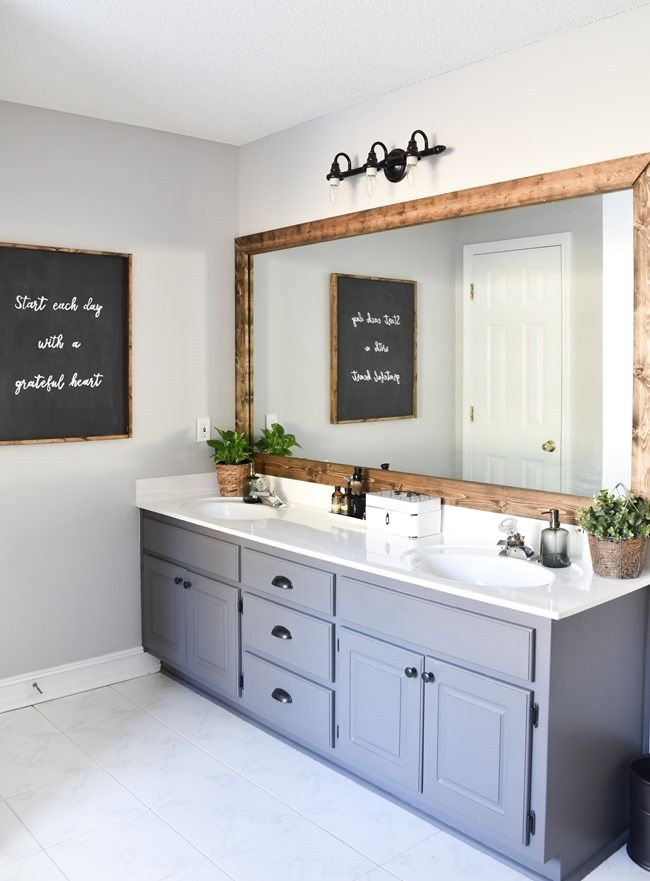 farmhouse master bathroom makeover done for 100 14 of