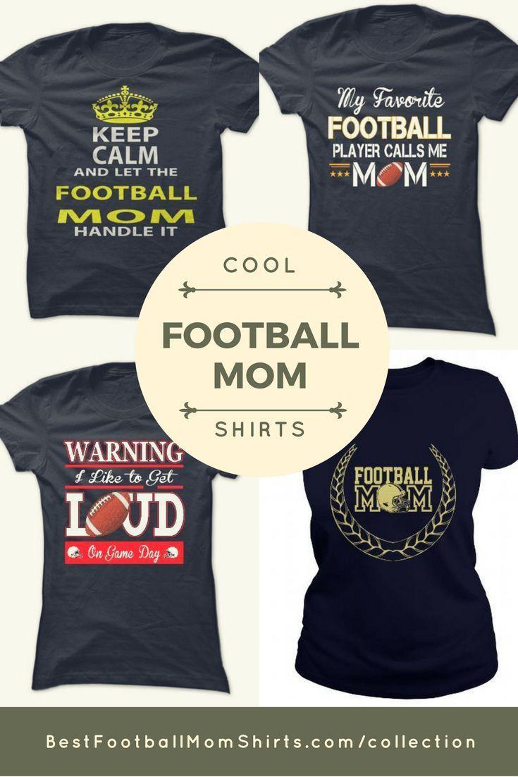 3ba6e14121a Custom Bling Football Mom Shirts