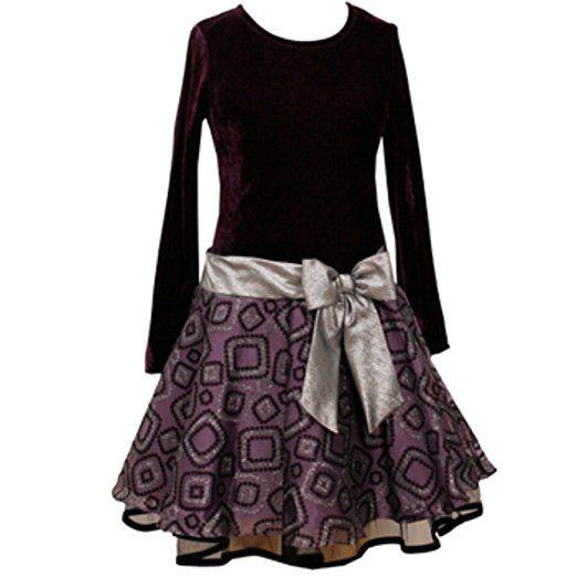 Bonnie Jean Kinder Mädchen Tutu Party Kleid langarm für ...