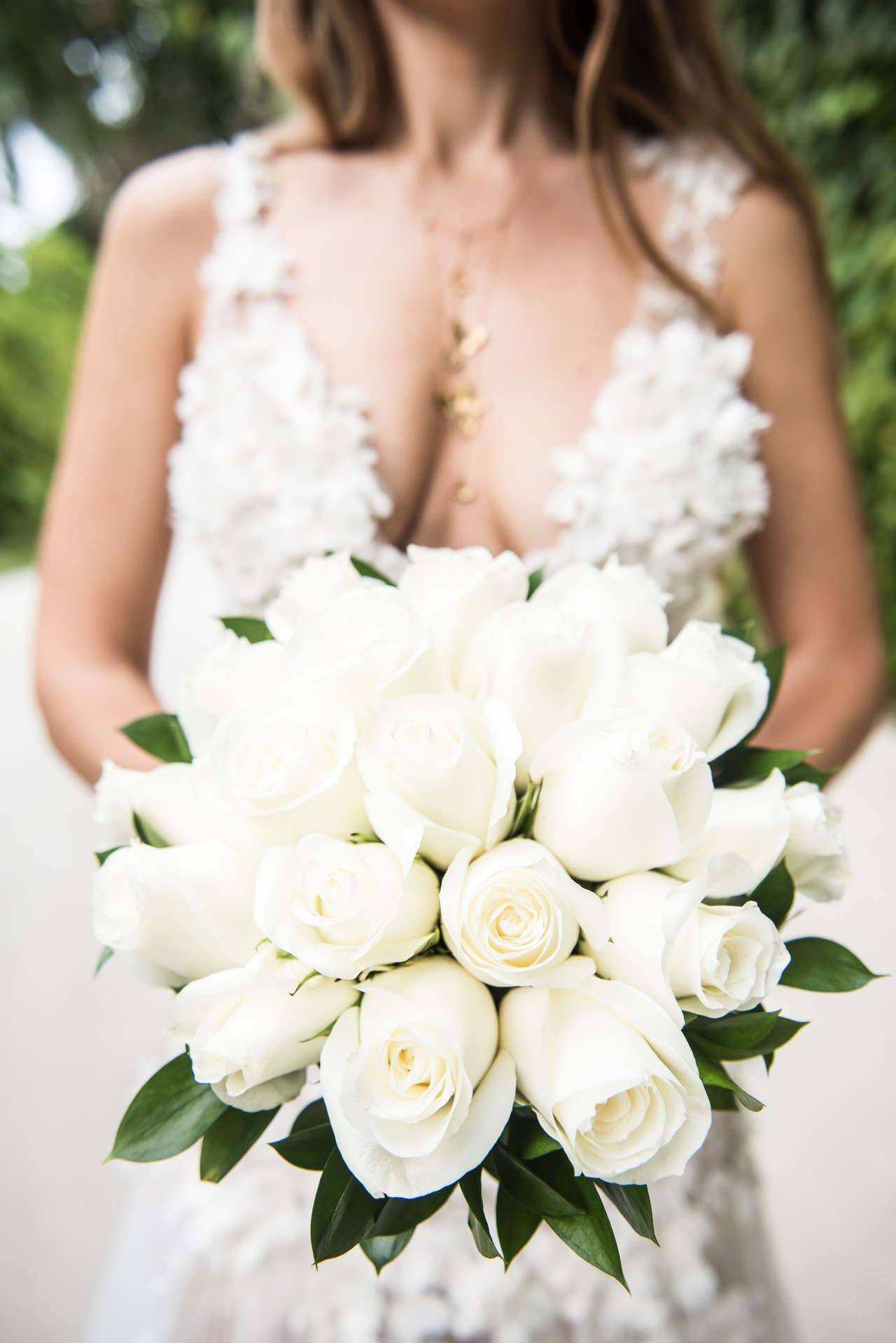 7c5c73d8d1 Bright white roses summer wedding bouquet is a perfect finishing touch to  my flower lace A