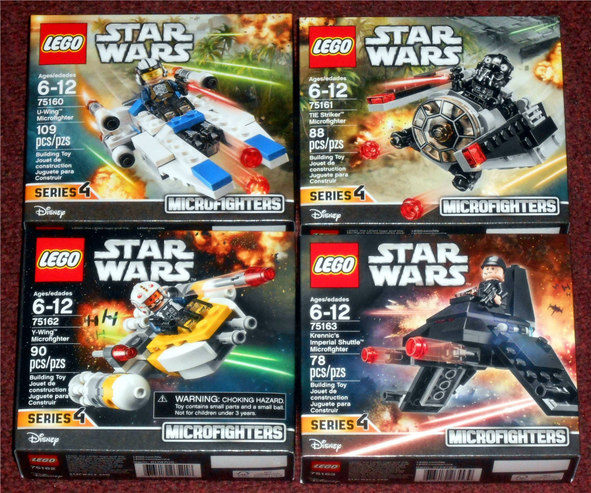 Lego - Microfighters Series 4 | Star Wars Toys | Lego star ...