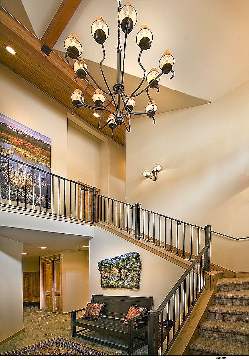 Model Home At Schaffer 39 S Mill Stairwell By Thid Lake Tahoe Interior Design