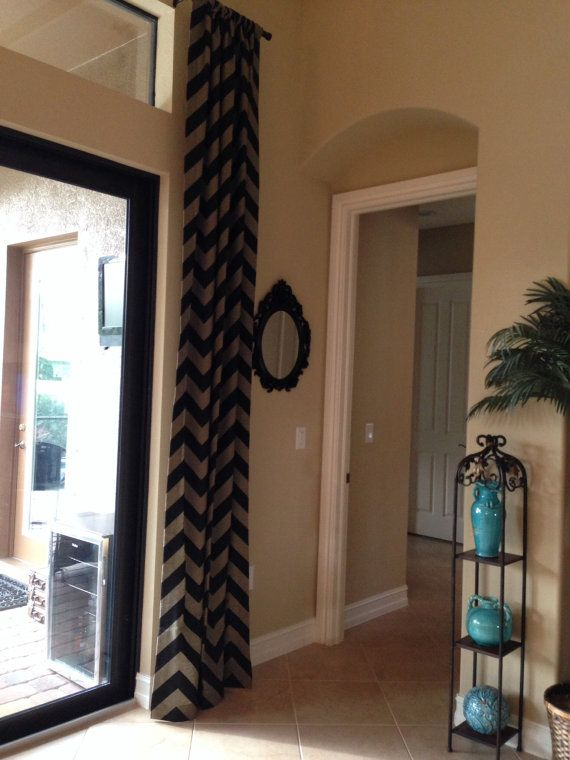and chevron white curtains this amazing curtain home black inspired mixed prints