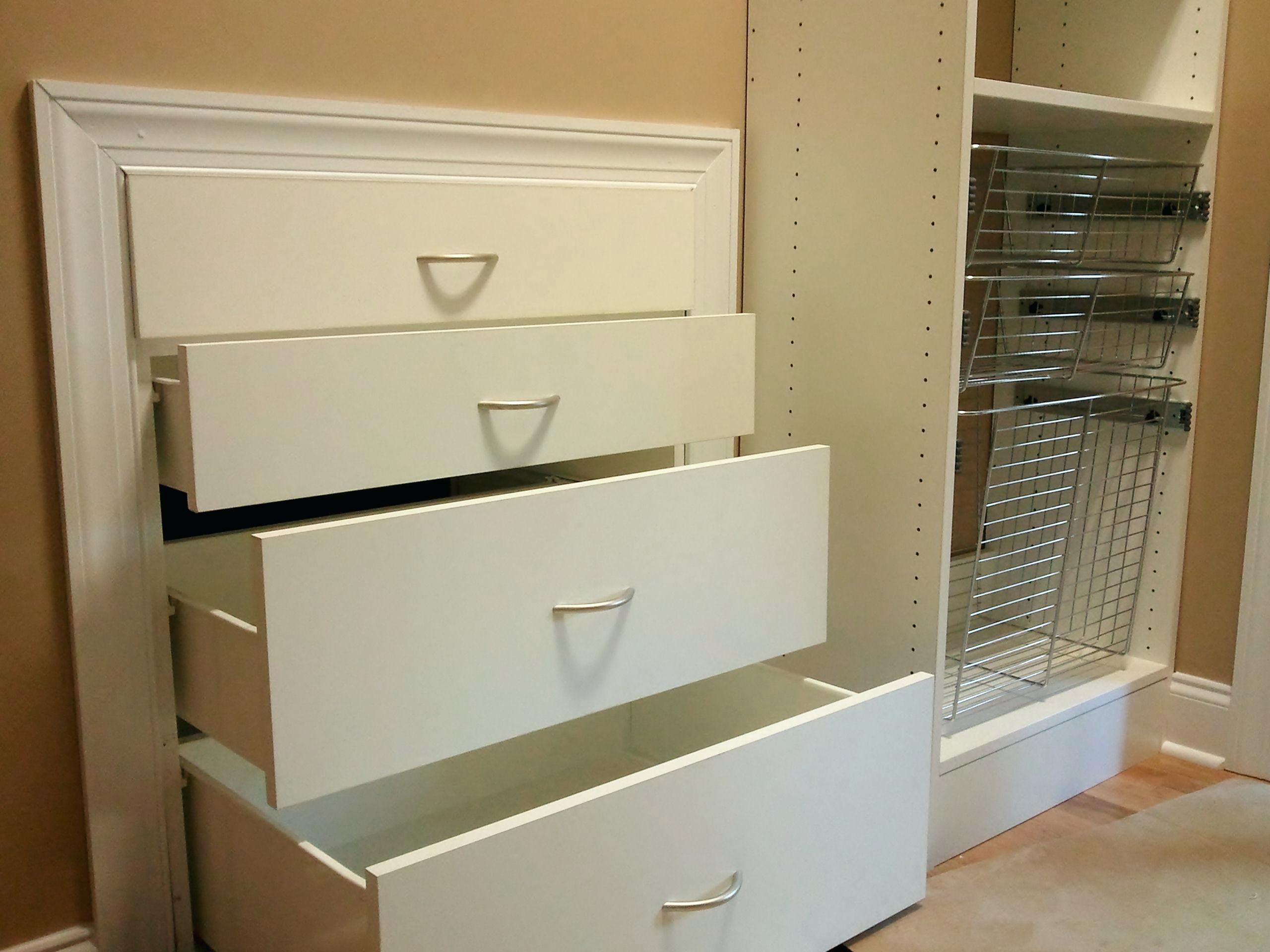 Custom Closet Chest Drawers