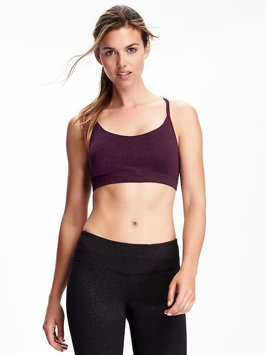 Go-Dry Strappy Cami Light Support Sports Bra for Women