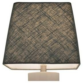 Threshold Small Square Lamp Shade - Blue Linen