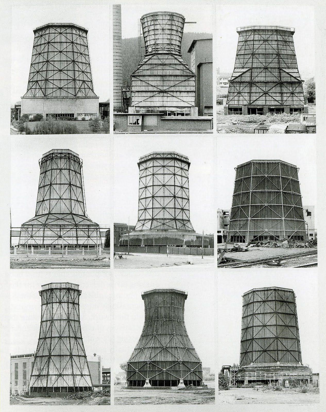 Bernd Hilla Becher Cooling Towers Google Search Hilla Becher