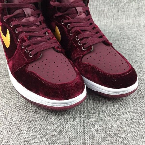 buy real air jordan 1 retro high mens velvet night maroon 2017