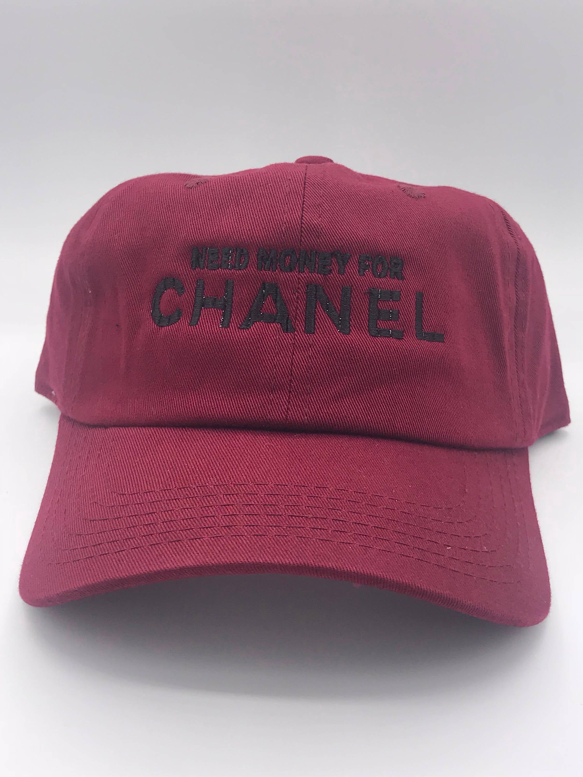 Excited To Share The Latest Addition To My Etsy Shop Money For Channel Parody Dad Cap Hat Https Etsy Me 385vzl0 Accessories In 2020 Dad Caps Caps Hats Best Caps