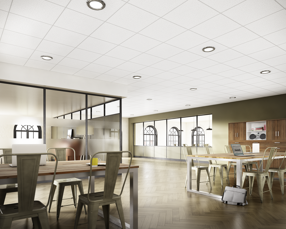 Spintone Fire Rated Ceiling Tiles Offer A Durable High Performance