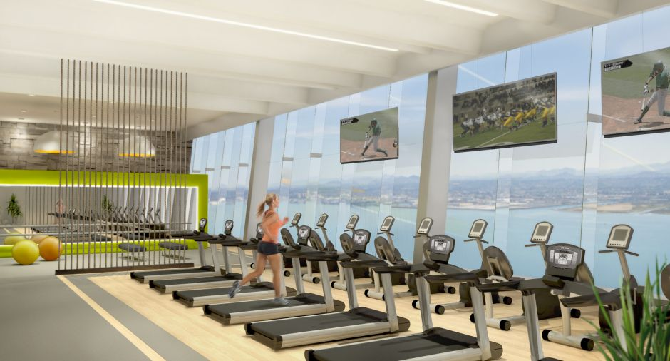 Awesome Sports And Fitness Facility Interior Design