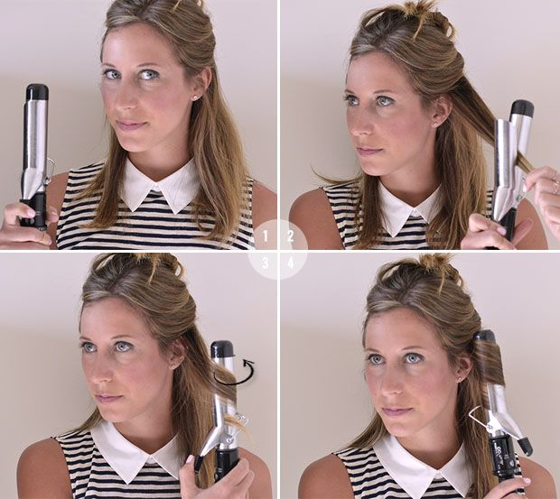 How To Use A Curling Iron How To Curl Your Hair Curling Iron Short Hair How To Curl Short Hair