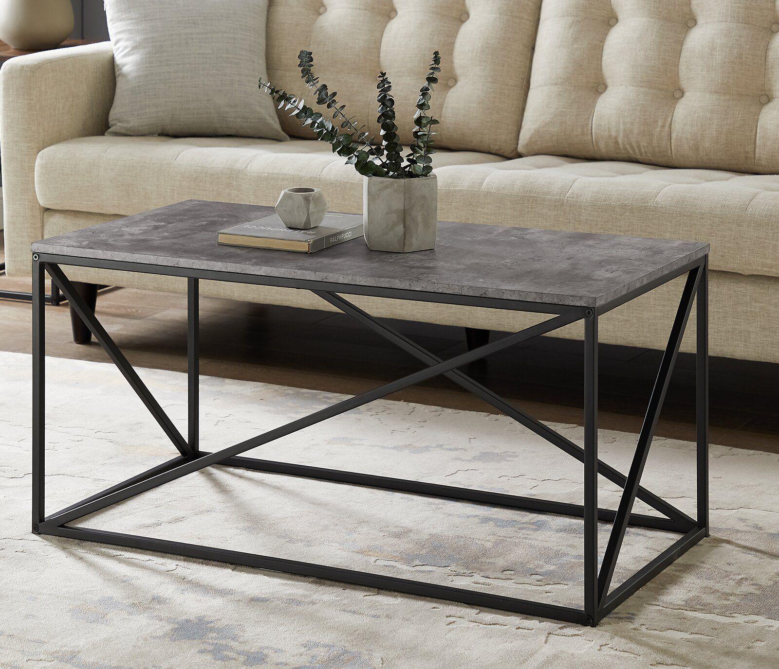 Zepeda Coffee Table Coffee Table Living Room Modern Coffee Table Living Room Orange [ 1376 x 1600 Pixel ]