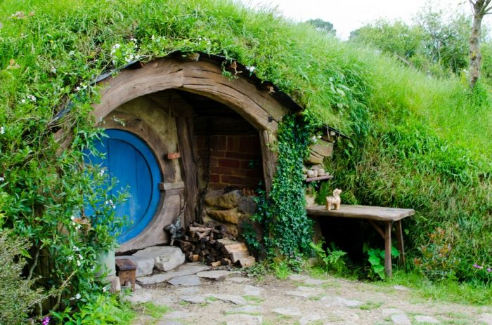 Gartenhaus selber bauen   Willkommen im Auenland! | Hobbit, Earth