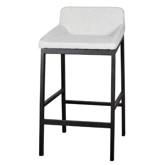 Lovely Kitchen Cart with Bar Stools