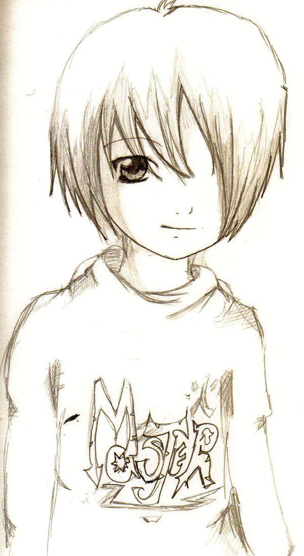 Anime Boy By On Deviantart