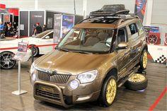 Tuning World 2014 Die Highlights Roof Box Car Bmw