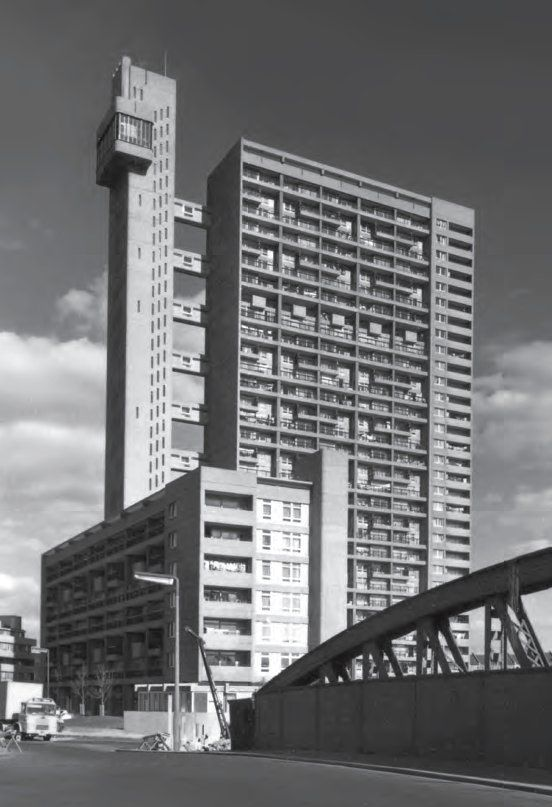 Trellick Tower London as featured in This Brutal World More