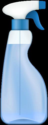 الرذاذ الأزرق منظف Png صورة Spray Clip Art Spray Bottle