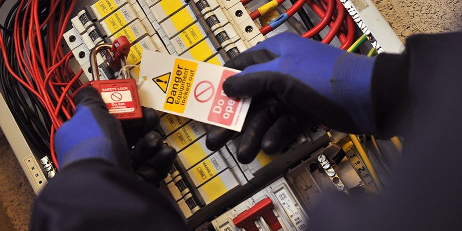 Lockout/tagout is a safety procedure to help ensure