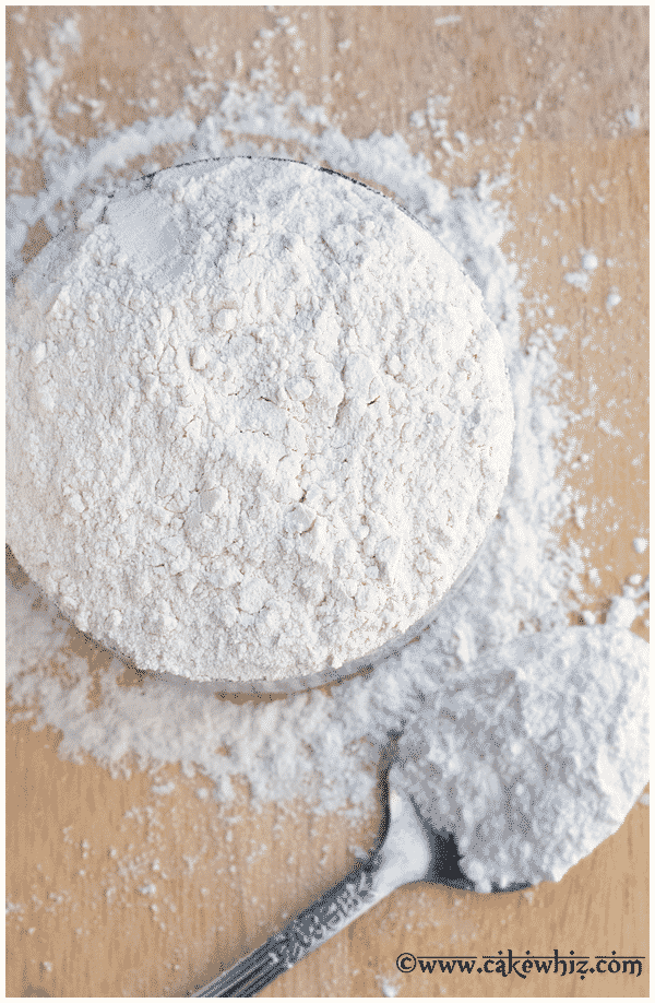 homemade cake flour on table with spoon Cakes Pinterest Cake