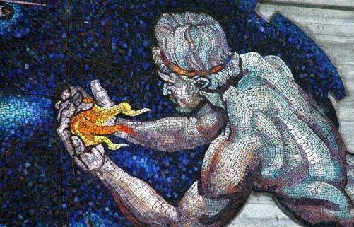 Prometheus Creating Man Prometheus the Titan w...
