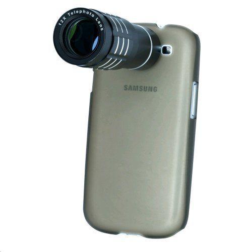 Simpelthen for morsomt. Nu ka min mobil blive et alsidigt kamera med denne telelinse, der kommer med eget stativ. Vtec 12x Telephoto Lens for Samsung Galaxy S3 by VTec, http://www.amazon.co.uk/dp/B009ZU3LWA/ref=cm_sw_r_pi_dp_Xc4Brb03S22NG