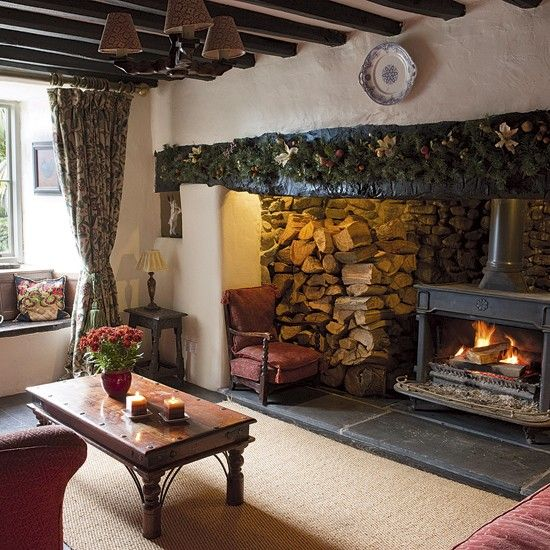 Open Fireplace Is A Must Have Essential For Cosy Nights In Toasting Marshmallows