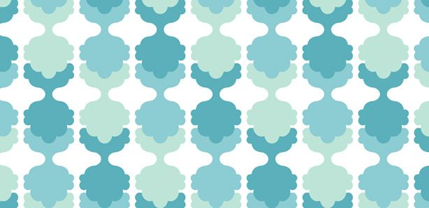 bubble damask by Aimee Wilder