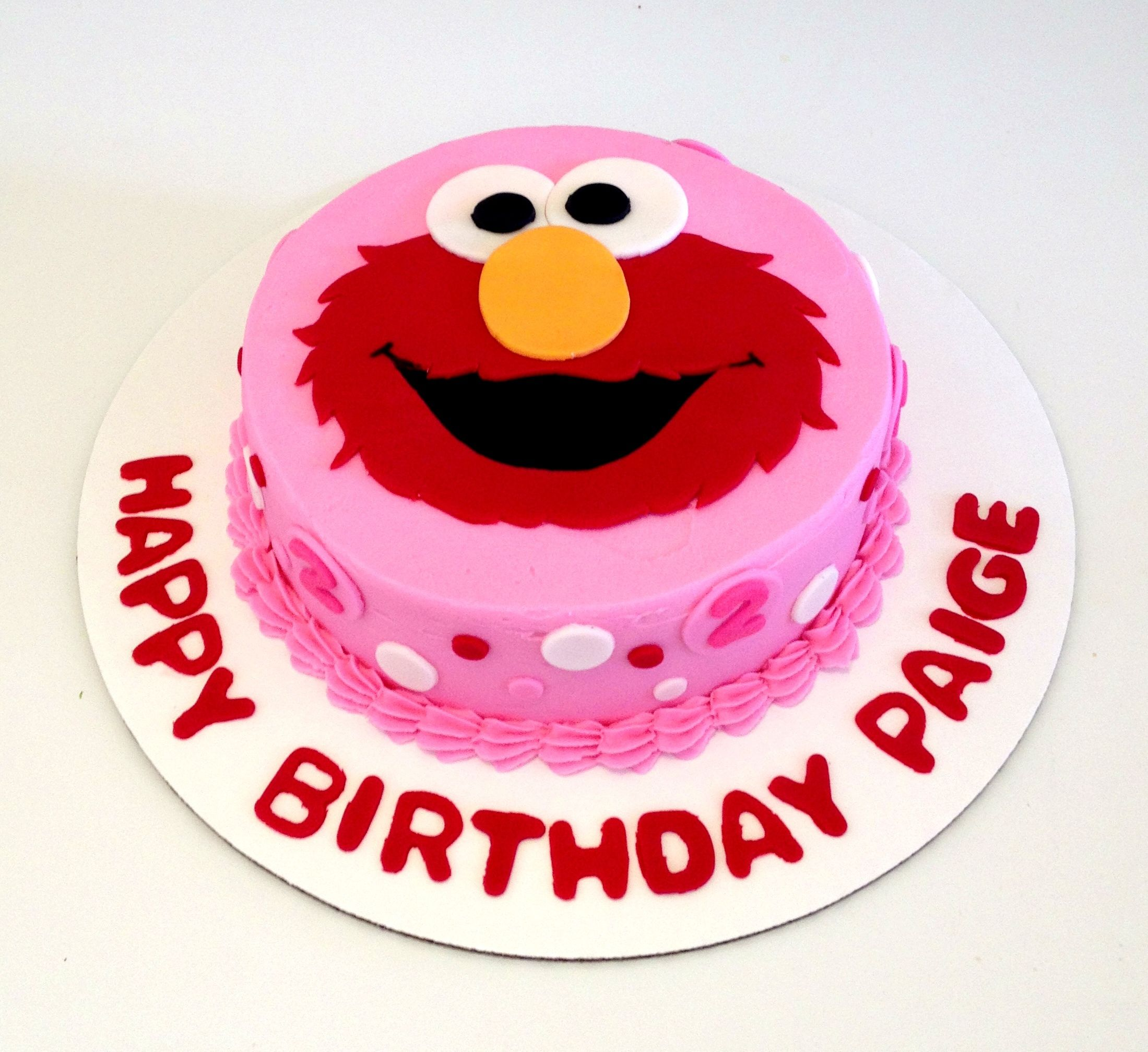 Elmo smash cake Sweets by Millie Birthday Cakes Pinterest