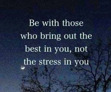 Choose your friends wisely tolerate family as best you can