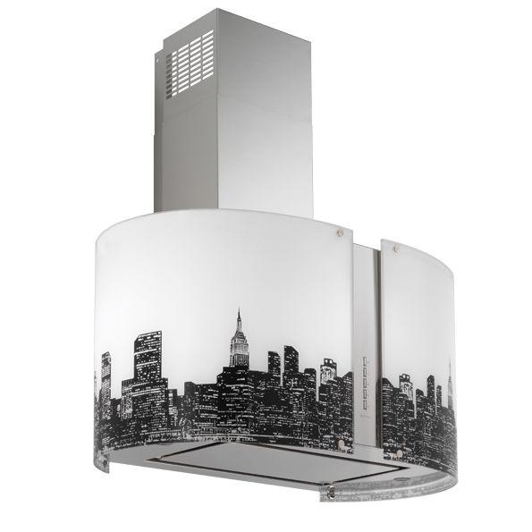 new york - cappe falmec - cappe moderne - cappe aspiranti per ... - Cappe Cucina Moderne