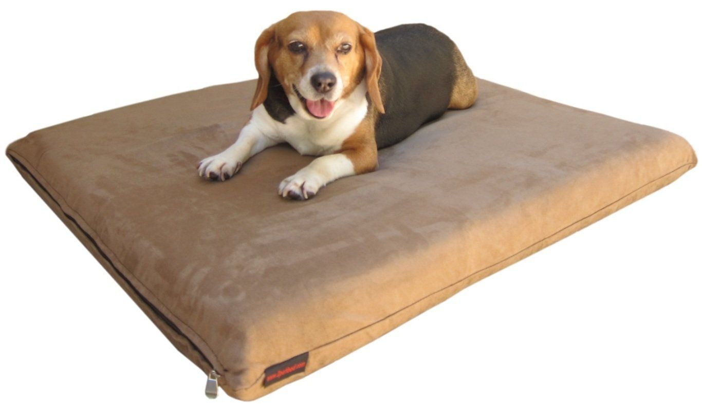 quantity 2 pack memory foam pad dog bed for medium to large pet