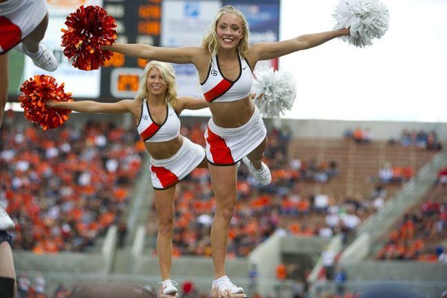 cheerleader der oregon state university