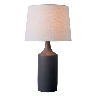 Kenroy home crayon table lamp 33159gry