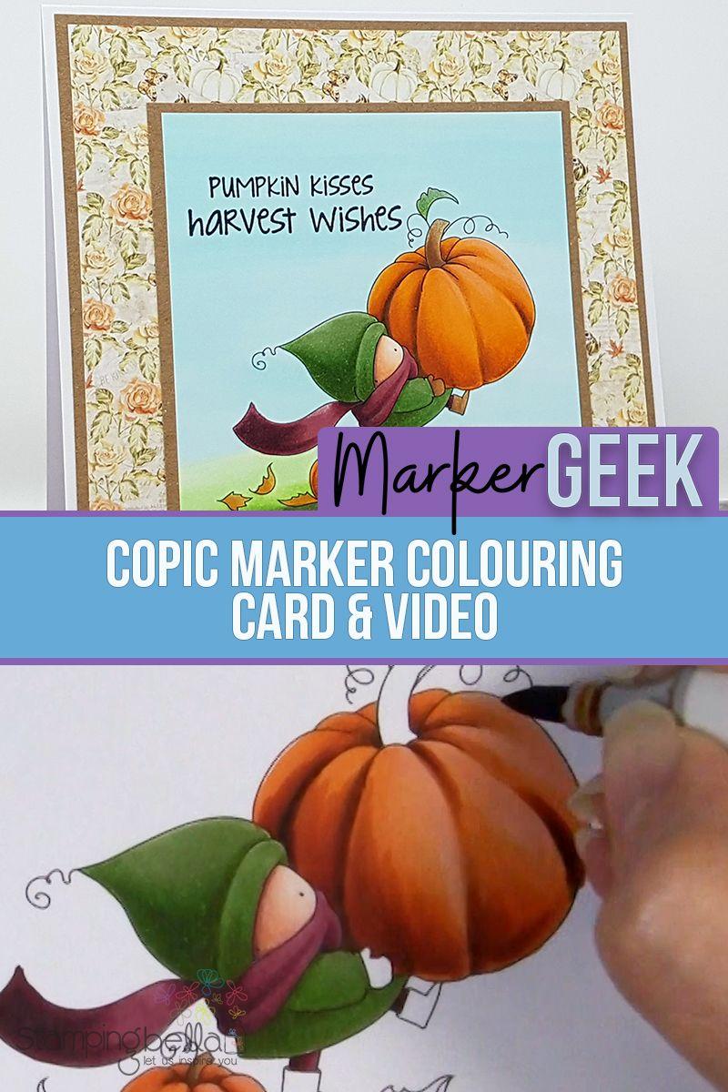 Stamping Bella Bundle Girl Cards Videos Marker Geek Blending Cards Inspirational Cards Stamp