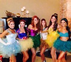 Despedida de soltera/ Bachelorette party temática princesas de Disney #LunaMiel