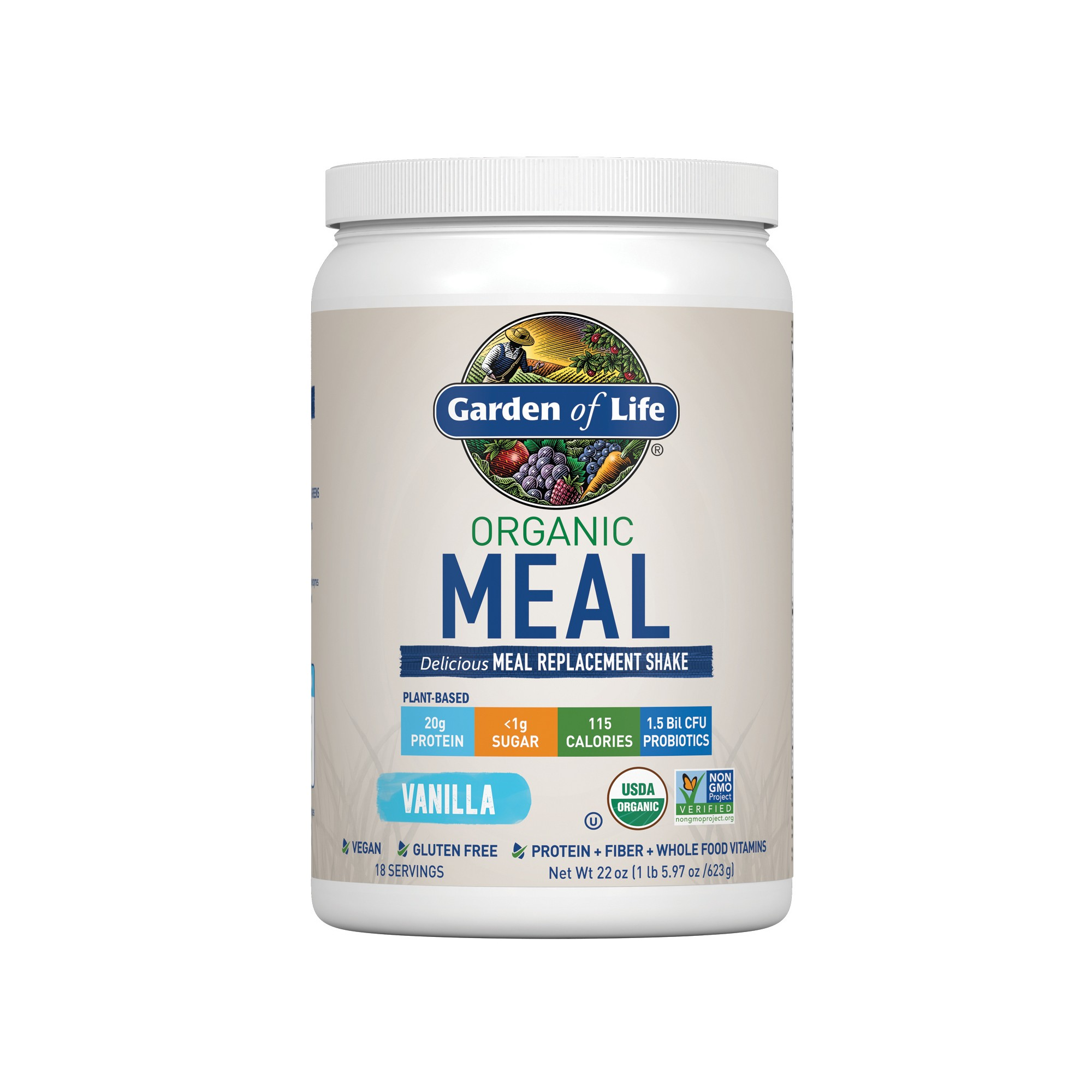 Garden of Life Organic Vegan Meal Replacement Shake Mix