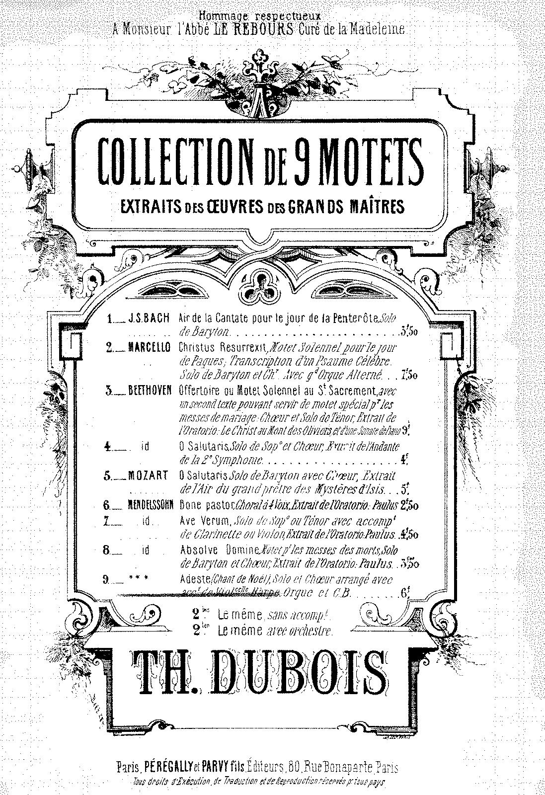 Adeste fideles (Dubois, Théodore) - IMSLP/Petrucci Music Library