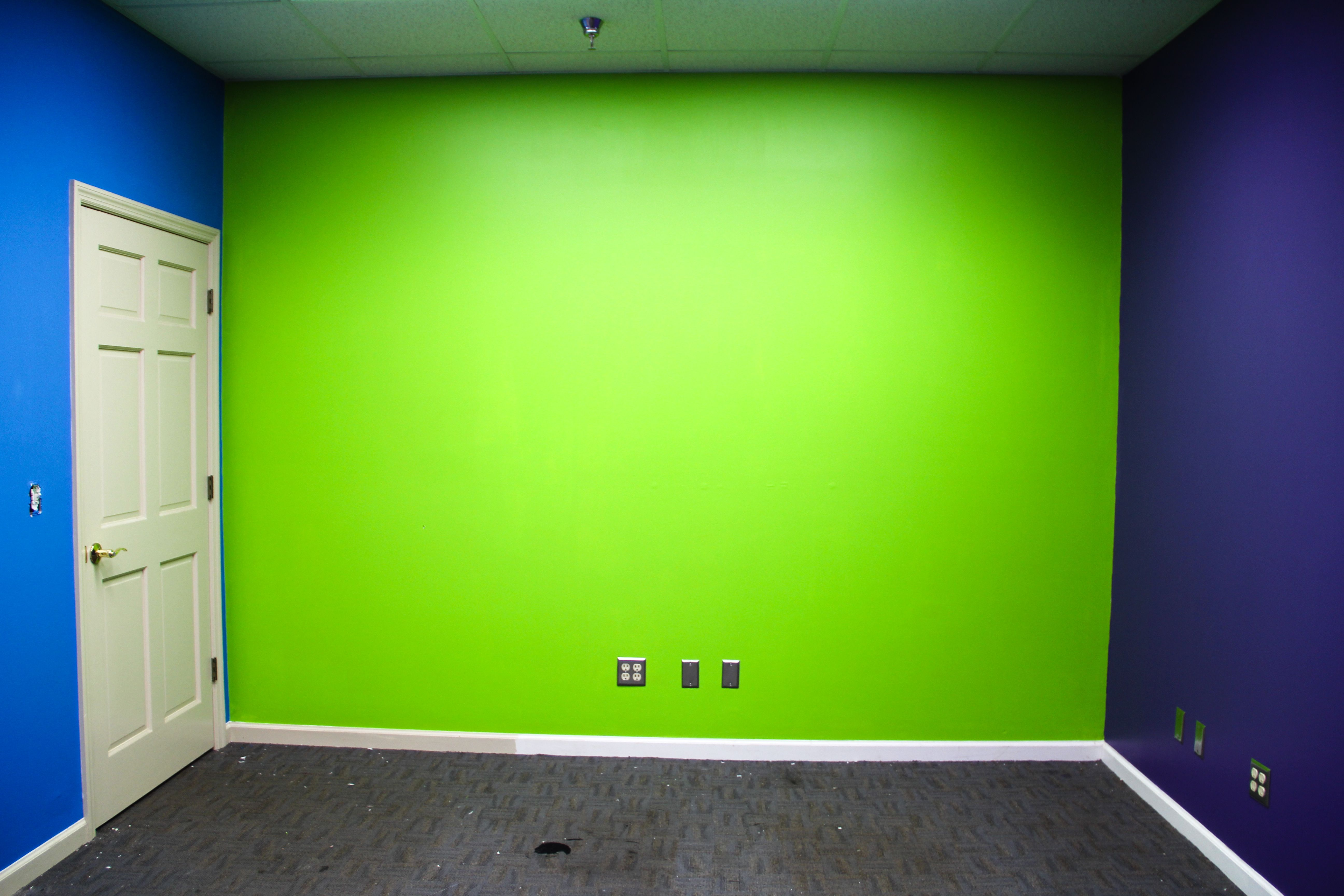 80's party room- still waiting for new flooring
