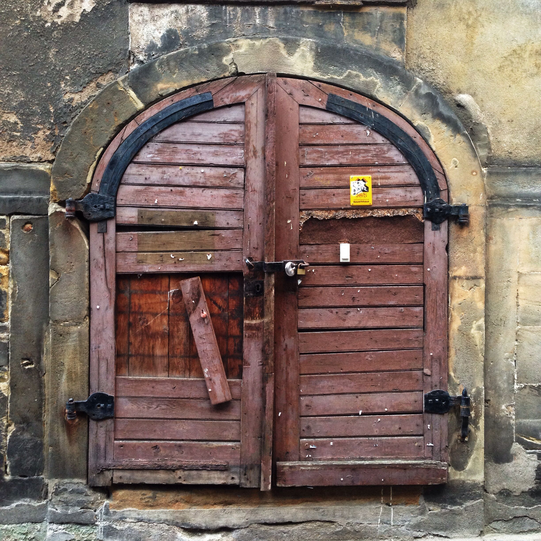 Door in Bamberg, Bayern Germany (my photo).