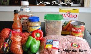 Meatloaf Ingrediants