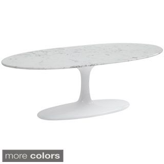 """Lippa 42"""" White Coffee Table Overstock Shopping"""
