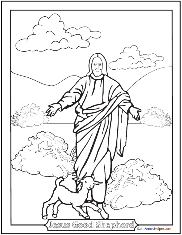 6 Rosary Diagrams And Cards To Print Easter Coloring Pagesbible